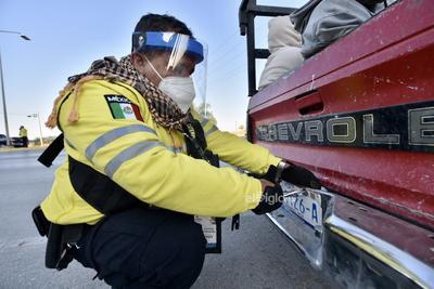 Erick Sotomayor Ruiz     La Dirección de Tránsito y Vialidad de Torreón retoma el Operativo Radar por motivo de cierre de año.