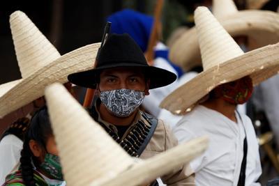 Encabeza AMLO ceremonia por el 110 Aniversario de la Revolución Mexicana