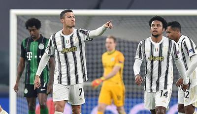 Morata y Cristiano ponen a Juventus en octavos de Liga de Campeones