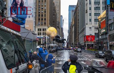 Realizan atípico desfile de Acción de Gracias en NY