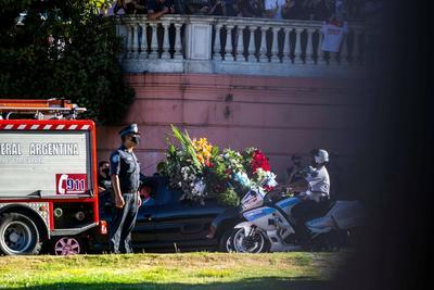 Miles acuden a darle el último adiós a Diego Armando Maradona