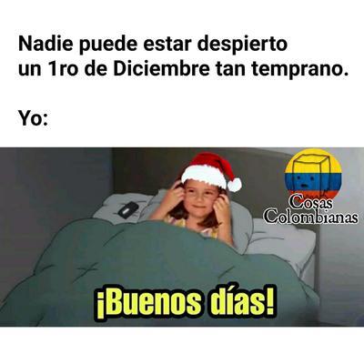 Internautas reciben diciembre con memes