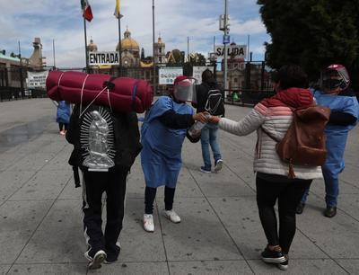 Basílica de Guadalupe reúne filas de feligreses previo a cierre del templo