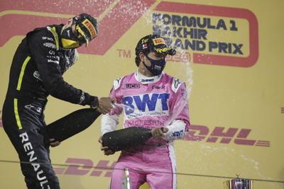 Se lleva 'Checo' Pérez su primera victoria de F1 con el GP de Sakhir