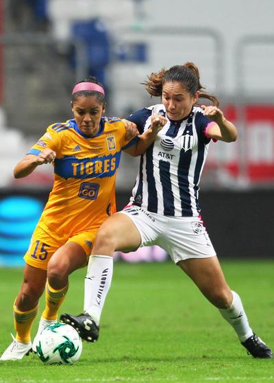 Vence Tigres 1-0 a Rayadas en Final de Ida de la Liga MX Femenil