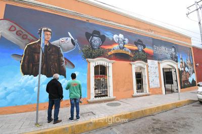 'Con cariño para Lerdo', el mural de la identidad lerdense