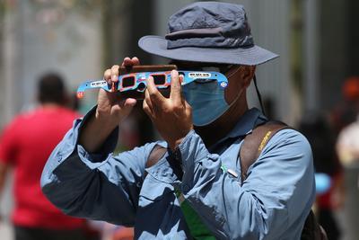 Países de Suramérica disfrutan del eclipse total de Sol