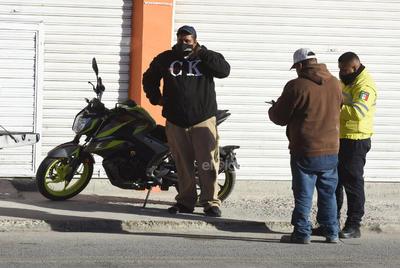 Vialidad de Torreón arma operativo ara decomisar motocicletas