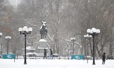 En algunas zonas del norte del estado se llegó a acumular más de un metro de nieve, según las autoridades.
