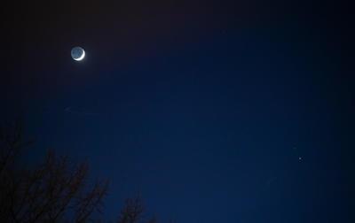 Así se ve la 'estrella de Belén', alineación entre Júpiter y Saturno
