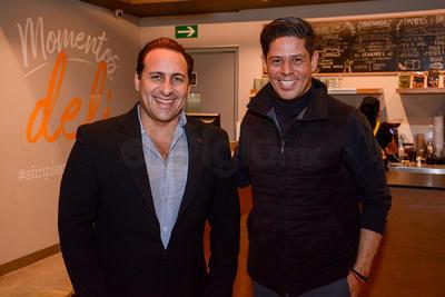 Raúl Garza y Alberto Cordero