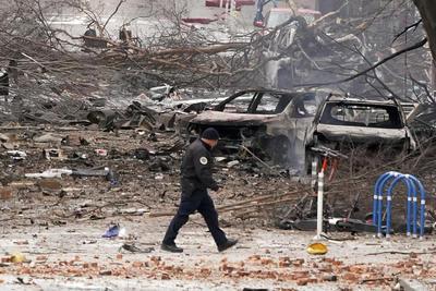 Explosión sacude centro de Nashville