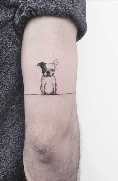 Los mejores diseños de tatuajes para los amantes de los perritos