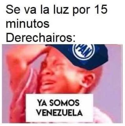 '¿Venezuela?', el apagón en México desata memes entre los que sí tenían luz