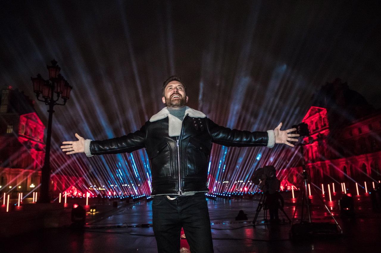 David Guetta alista concierto de Nochevieja en París
