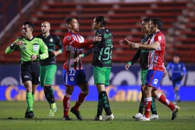 Santos tiene su primera derrota del Guardianes 2021 frente a San Luis