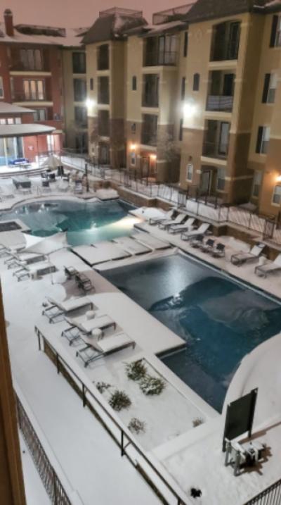 Así se ven los estragos que ha dejado la tormenta invernal en Texas