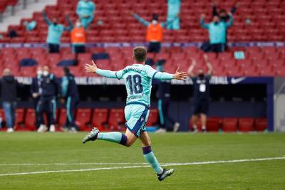 El Levante mostró que le tiene tomada la medida al líder Atlético de Madrid en la Liga española.