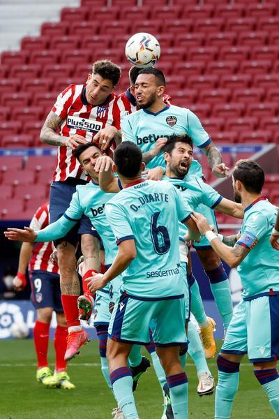 Ahora el Atlético debe preparar el duelo que sostendrá el martes ante el Chelsea en la ida de su serie de octavos de final de la Liga de Campeones.