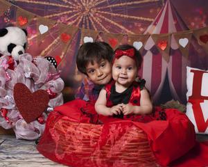 21022021 Franco y Regina Magallanes Segobia celebrando el día de san valentín.
