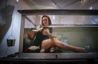 Artista ruso Pavel Semchenko realiza exhibición inmersiva