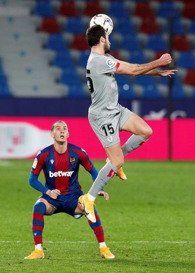 Bilbao iguala con Levante en La Liga