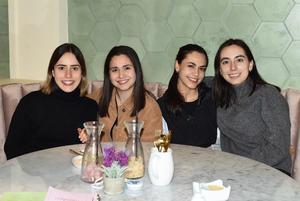27022021 Carolina, Bárbara, Marcela y Andrea
