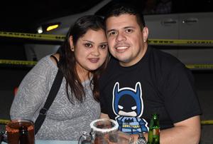 27022021 Anny Martínez y Juan Ángel Arroyo.