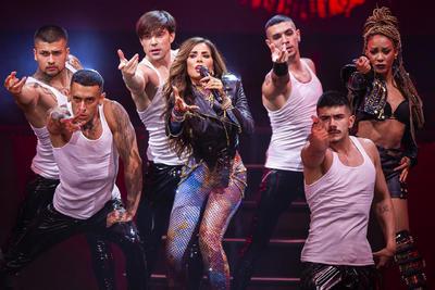 Gloria Trevi deslumbra en el Metropólitan con concierto online