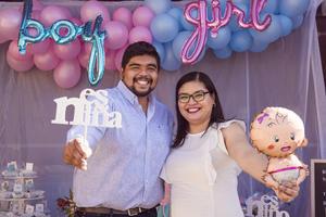 28022021 Liliana Montoya Luna e Israel de la Cruz Aguilera tendrán como primogénito a una niña.
