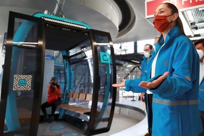 Abren en CDMX primer teleférico para mejorar movilidad en zonas altas