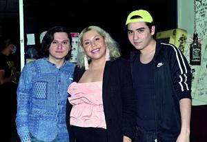 05032021  Nail Vielma, Cristina Garza y Israel Boone.