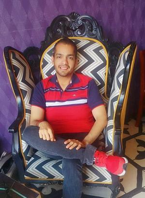 05032021 Oscar Díaz festejó recientemente 28 años de edad.