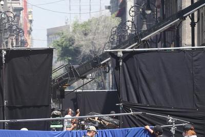 Alejandro González Iñarritu filma cinta en Centro Histórico de CDMX