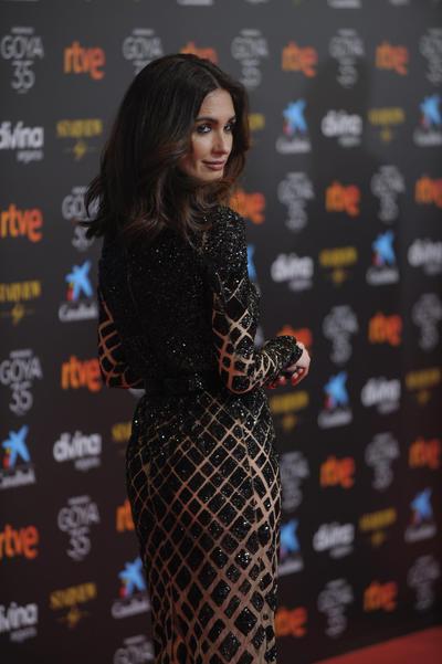 La elegancia triunfa en la alfombra roja de los Premios Goya