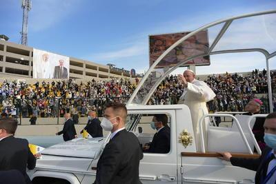 Se despide Papa Francisco hoy de Irak, tras tres días de visita