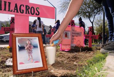 Protestan madres en Torreón; acusan impunidad en feminicidios