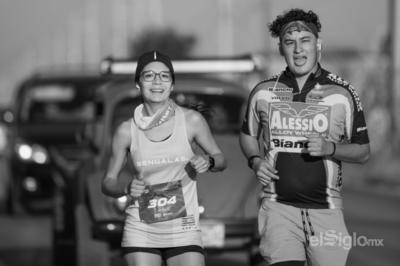Laguneros realizan Reto Virtual del Maratón Lala 2021