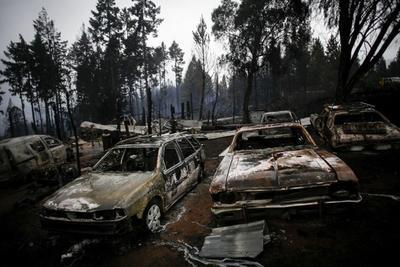 Incendio en el sur de Argentina deja múltiples afectaciones y 15 desaparecidos