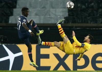 PSG despide al Barcelona y Messi de Champions League