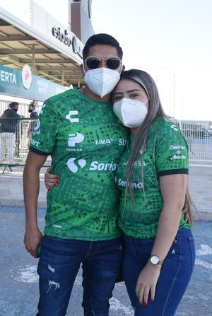 11032021 Osvaldo Romero y Michelle Márquez