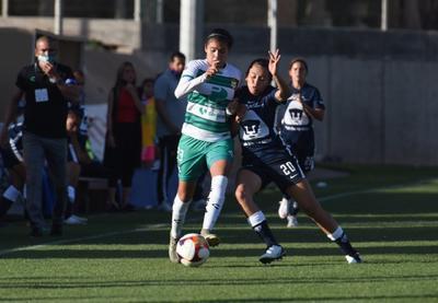 Guerreras de Santos Laguna empatan 2-2 ante Pumas en la Liga Femenil