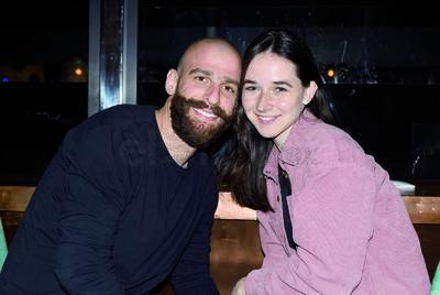 """Ana Cristina González y Pablo Gómez. Gozan fin de semana en un restaurante, bajo la premisa de """"cocina expuesta"""""""