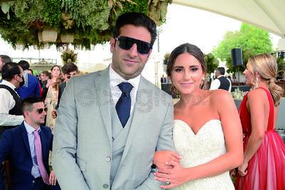 Said Chaman y Luisa Bracho celebraron su unión matrimonial en compañía de sus seres queridos.