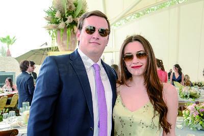 Jorge y Marlene. Celebran unión matrimonial de Said Chaman y Luisa Bracho.