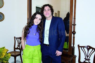 Andrea Manuela Hernández Silveira festeja su cumpleaños en compañía de su familia y amigos.