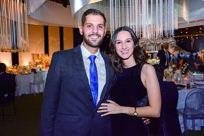 Yamil Milán y Mary Carmen Castellanos. Boda de Karime Silveira y Gustavo Herrera.