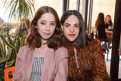 Danna Gallardo y Naomi Cisneros. Despedida de soltera Ana María Ortiz.