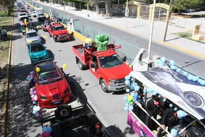 Realizan Caravana de la Primavera 2021 en La Laguna
