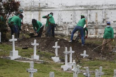 El cementerio colombiano donde se revive el horror de los 'falsos positivos'
